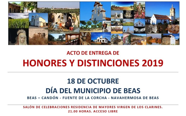Honores y Distinciones 2019