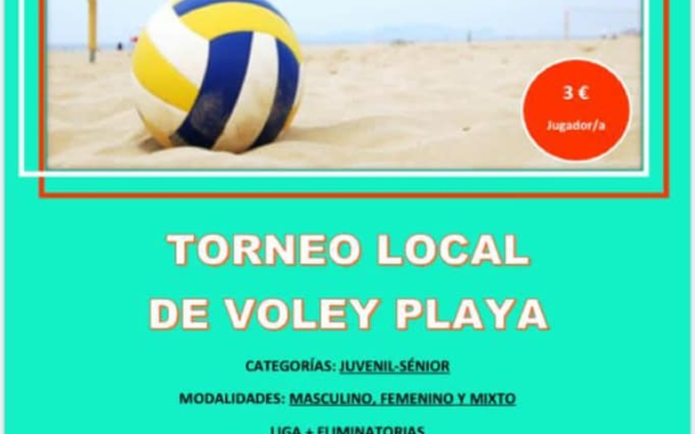 Torneo Local de Voley Playa